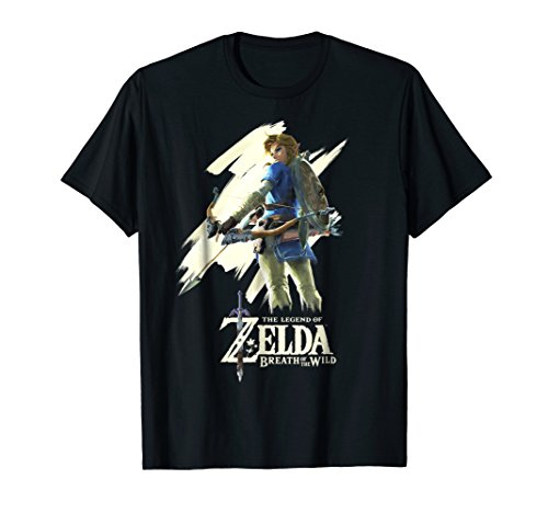 Nintendo Zelda Breath of the Wild Link Stare Graphic T-Shirt T-Shirt