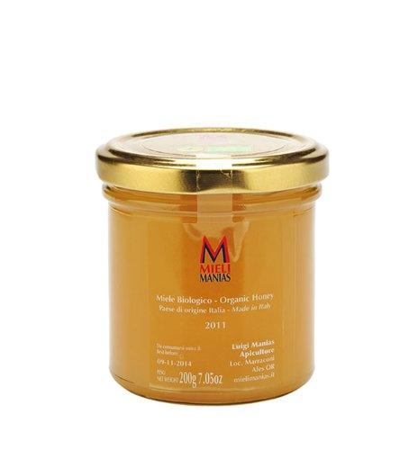 1 x 200 gr - Miele di corbezzolo, prodotto in Sardegna da Luigi Manias, esperto apicoltore sardo