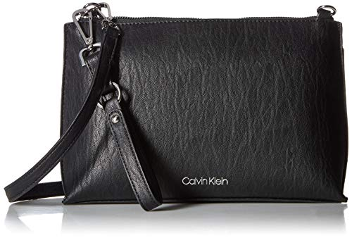Calvin Klein Sonoma Key Item Novelty Crossbody, black/silver