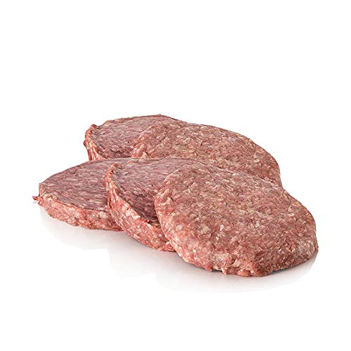 Rinder- Hacksteak Patties (Burger), TK, 1500g. 10 St.