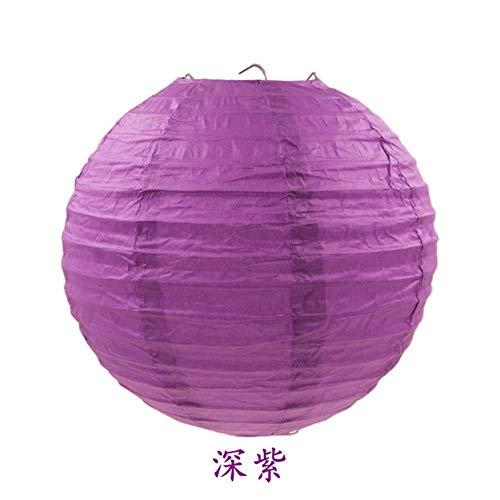 4-6-8-10-12-14-16inch Ronde Chinese Papier Lantaarn Kerstmis Kerstmis Kerstmis Halloween Bruiloft Decoratieve Opknoping Wit Papier Lampen Lampion