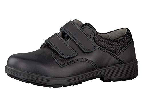 RICOSTA Jungen Sneaker William, WMS: Mittel, Kommunion Schule Kind-er Kids Junge-n Kinderschuhe toben Spielen Freizeit leger,schwarz,38 EU / 5 UK