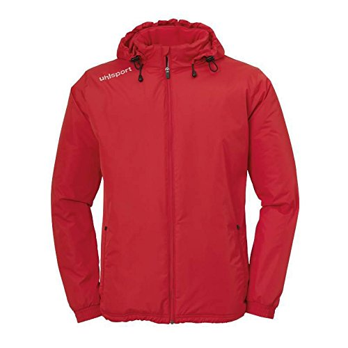 uhlsport Essential Coach, Giacca Unisex-Adulto, Rot, S