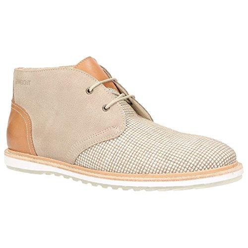 Zweigut® -Hamburg- komood #355 Heren schoenen Vrije tijd Derby Lederen snoer nonchalante high top lage schoenen