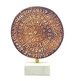 greekartshop PHAISTOS Disk Museum Replica Minoan Palace 1700B.C. El primer tipo móvil