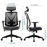 Zoom IMG-1 intey sedia ufficio regolabile ergonomica