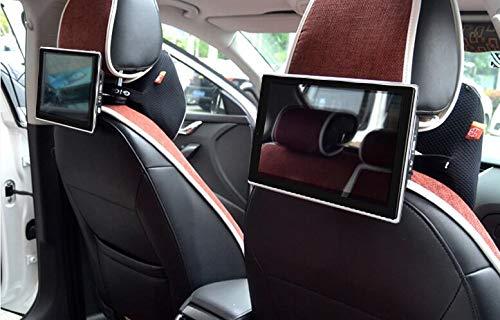 2020 New Best 4K 1080P IR HD Headrest Screens Car Backseat Media Monitor DVD Player for Jaguar 2PCS