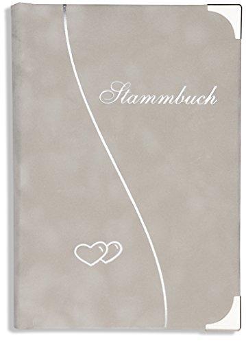 Stammbuch der Familie grau Onada Klemmschiene Stammbuch Hochzeit