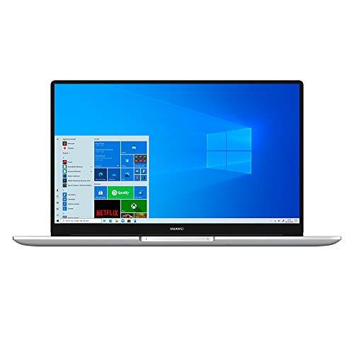HUAWEI MateBook D15 Laptop, 15.6 Pollici Full View 1080P FHD Notebook PC Portatile, Intel Core i3-10110U, Lettore d'Impronta Digitale, 8 GB di RAM, SSD da 256 GB , Windows 10, Layout Italiano, Silver