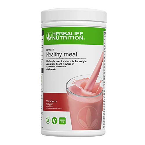 Nutritional Healthy Meal Shake Mix Strawberry Delight 550 g
