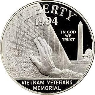 1994 vietnam memorial silver dollar