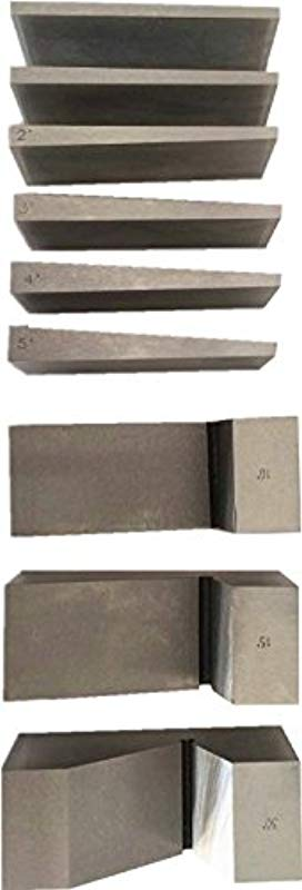 HHIP 3402 0018 9 Piece Universal Angle Block Set 0 25 X 3