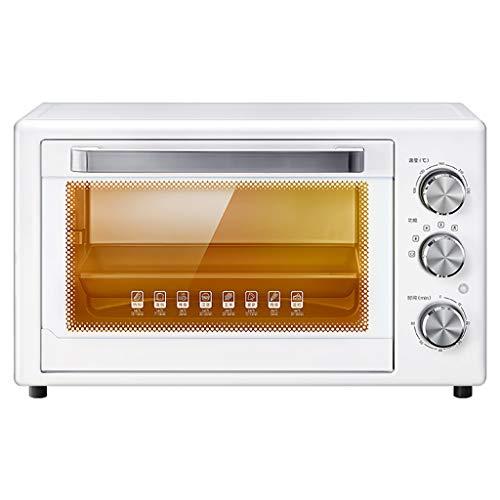 ZXYZZ Elektrische fornuis voor thuisbakken kleine oven, multifunctionele automatische taart, 32 liter, grote capaciteit, veiligheid, hoog kan pizza braadkip
