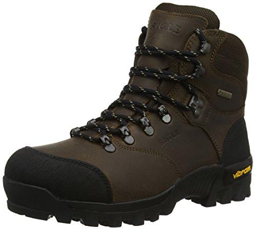 Aigle Herren Altavio Gore-Tex Leather Jagdstiefel, Braun (Sepia/Black), 46 EU