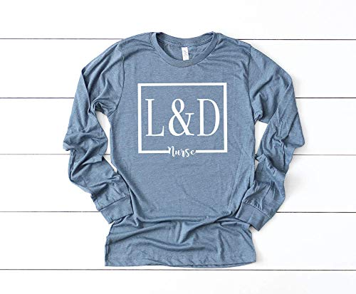 Labor and Delivery Long Sleeve Nurse Shirt