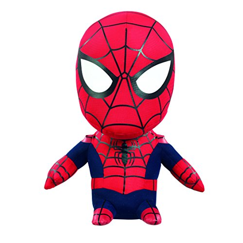 Marvel - SM02312 - Spiderman, Medium-Plüschfigur mit Sound , 17 cm