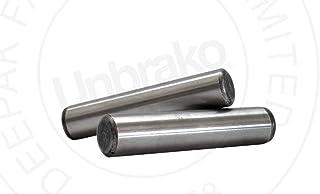 Pack of 100 Pack of 100 Brighton-Best International 241100 Dowel Pin 1 Long 1//8 Diameter 1 Long 1//8 Diameter Alloy Steel