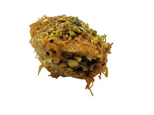 Burma mit Pistazien & Cashewkerne Libanesische Premium Baklava Baklawa Gebäck Handarbeit Original beste Zutaten hochwertige Qualität Köstlichkeiten Exquisit ein Genuß (Cashewkerne, 500 gr.)