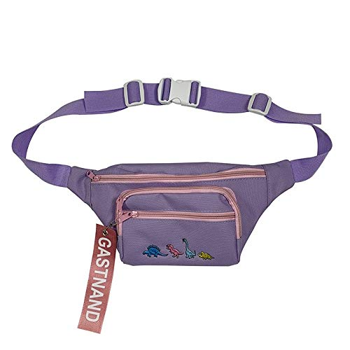 yywl Sac de Ceinture Ladies Hip Hop Street Bum Belt Chest Fanny Pack Female Waist Bag Women Money Mobile Harajuku Bags