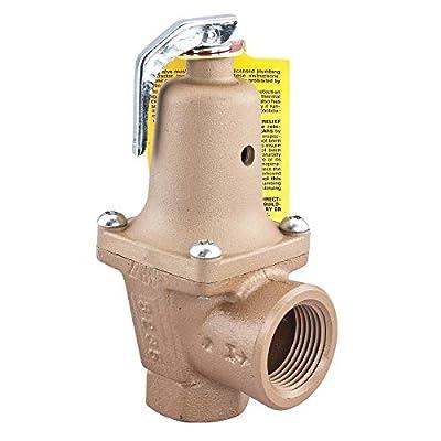 "Watts Regulator 740 Iron 2-Port 3/4"" Boiler Pressure Relief Valve, 40 psi from Watts"