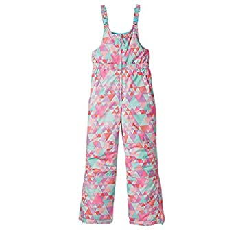 Eddie Bauer Snow Bib for Boys and Girls Waterproof Insulated Ski Overalls Dusty Pink Small