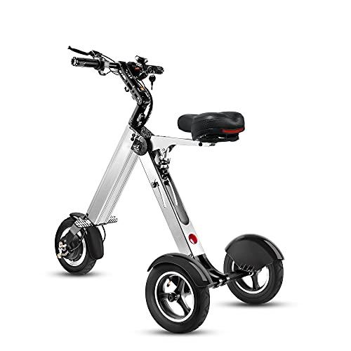 TopMate ES32 Triciclo Eléctrico Plegable Patinete para Adulto, Scooter Electrico 3 Ruedas...