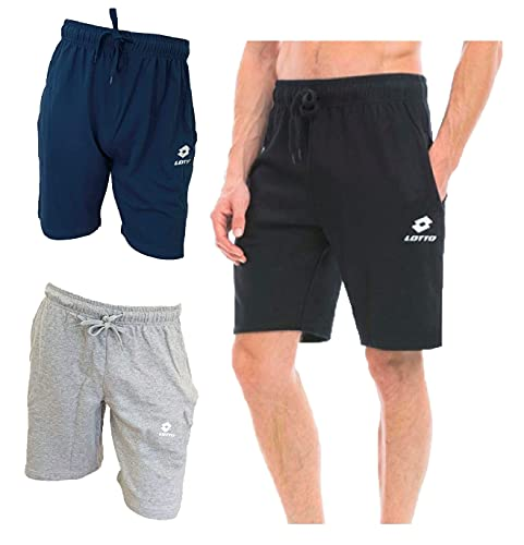 pantaloni in felpa uomo Lotto Bermuda Uomo