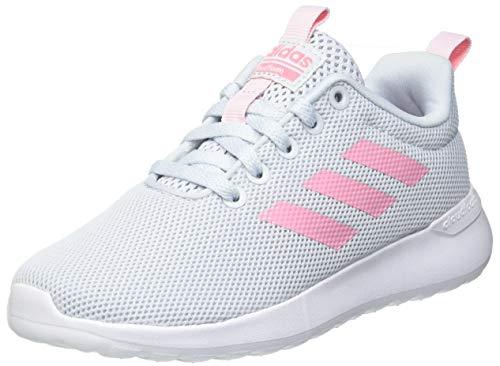 adidas Lite Racer CLN K, Scarpe da Corsa, Halo Blue/Super Pop/Clear Pink, 39 1/3 EU