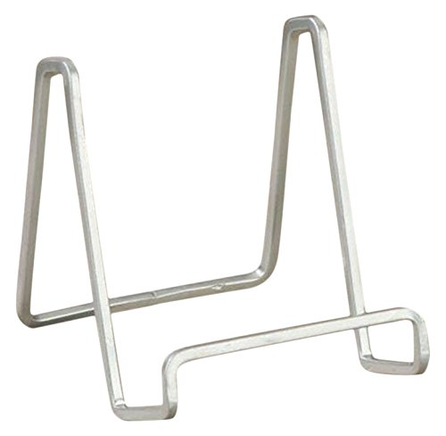 """Tripar 6"""" Silver Square Wire Stand/Platter Stand/Easel Display"""
