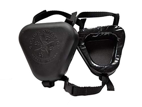 4 Paws Aviation K-9 Ear Muffs (Small, Black)