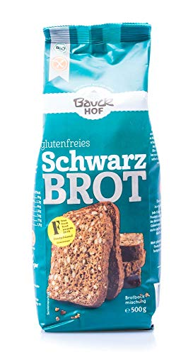Bauckhof Schwarzbrot-Backmischung, glutenfrei (500 g) – Bio - 2