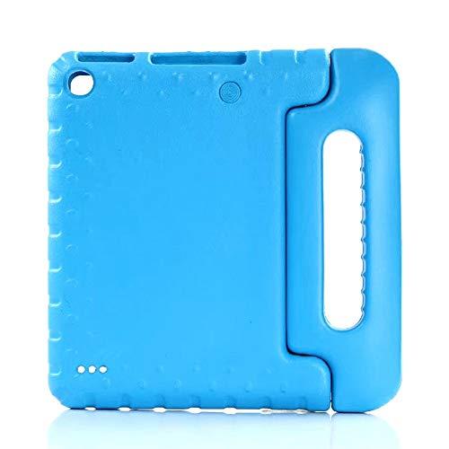 GHC Pad Fundas & Covers Cubierta de la Caja para Samsung Galaxy Tab A 10.1 Inch 2019 Kids Safe EVA Funda Protectora SM-T510 SM-T515 10.1'Cáscara de Funda para niños (Color : Blue)