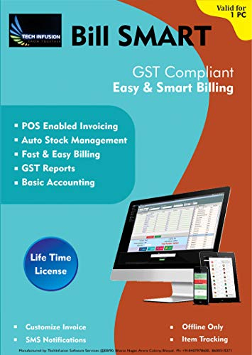 BILL SMART - GST Compliant, Billing, Invoicing,...