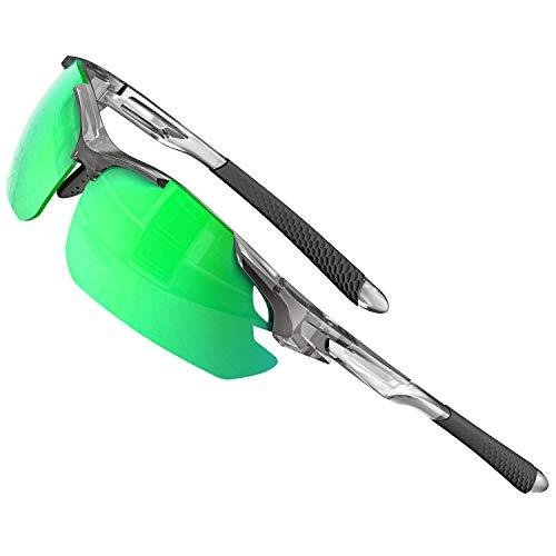 ATTCL Gafas de sol para hombre - Gafas de sol polarizadas deportivas...