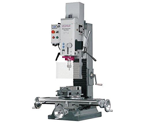 Read About Gear Head Mill/Drill, 20 In, VS, 230v, 1.5HP