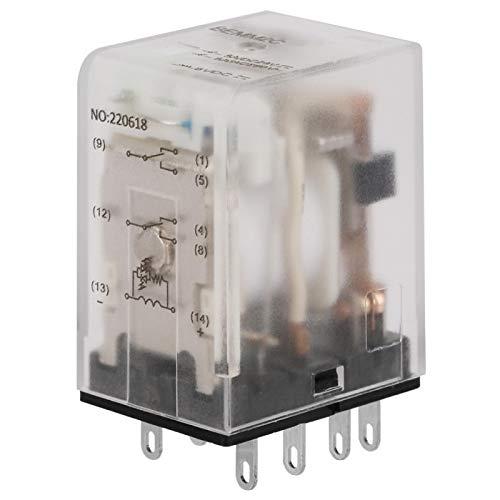 Mini relé de potencia intermedia, relé de estado sólido de 8 pin 5A relé electromagnético(6VDC)