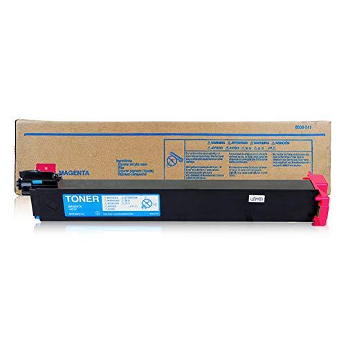TN214 Toner Cartridge compatibele vervanging voor KONICA MINOLTA C200 C210 C7721 Series Printer, printkwaliteit is uitstekend, geen verschil dat size Rood