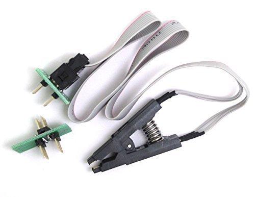 WINGONEER SOIC8 SOP8 Test Clip Für EEPROM 93CXX / 25CXX / 24Cxx In-Circuit-Programmierung + 2 Adapter