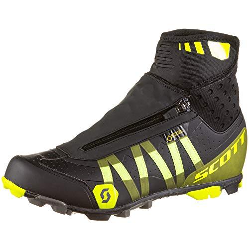 Scott MTB Heater Gore-Tex 2021 - Zapatillas de ciclismo (talla 45), color negro y amarillo