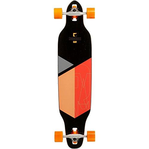 RAM Longboard-Komplettset orange Einheitsgröße