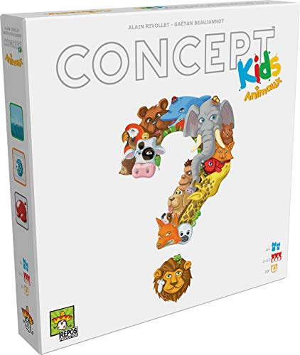 Concept Kids - Asmodee - Jeu de société - Jeu enfant - Jeu de plateau