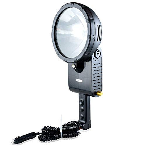 Outdoor Work Light Hand Lantern, ABS 55W-220W HID H3 Xenon Bulb Portable Spotlight Flashlight for Hunting,Camping,Fishlight ZONGKEJIDZ (Size : 220W)