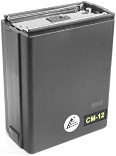 ExpertPower Two-Way Radio 10 AA Battery Case for Icom CM-12 CM-12G IC-H2/H6/H12/H16/U2/U12/U16 IC-M2/M5/M11/M12 IC-2GAT/3AT/3GAT/4AT/4GAT/12AT/12GAT/32A/32AT/32E IC-A20/A21/A2 Realistic HTX-202 and H
