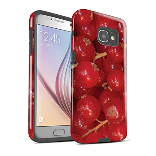 Stuff4® Phone Case/Cover/Skin/SG-3DTBG / Juicy Fruit Collection Samsung Galaxy A5 (2017) Rode bessen