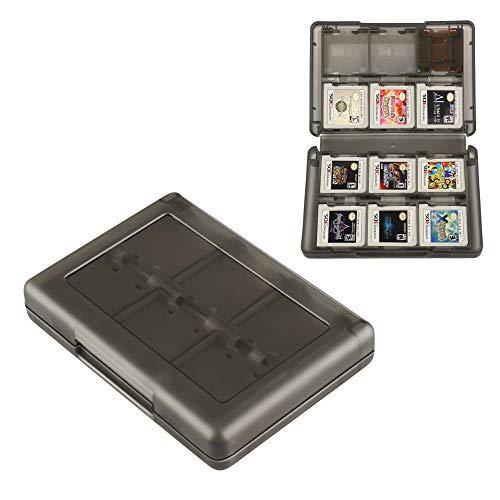 Estojo para cartões 3DS com suporte de jogo 28 em 1 compatível com Nintendo New 3DS / New 3DS XL / 3DS XL / 3DS XL / DSi / DSi XL / DS / New 2DS / New 2DS XL / 2DS/ 2DS XL Catridge