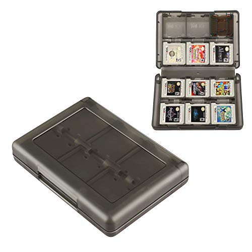 3DS Game Holder Card Case, 28-in-1 Game Holder Card Case Compatible with Nintendo New 3DS / New 3DS XL / 3DS / 3DS XL / DSi / DSi XL / DS / New 2DS /New 2DS XL / 2DS/ 2DS XL Catridge Storage Box