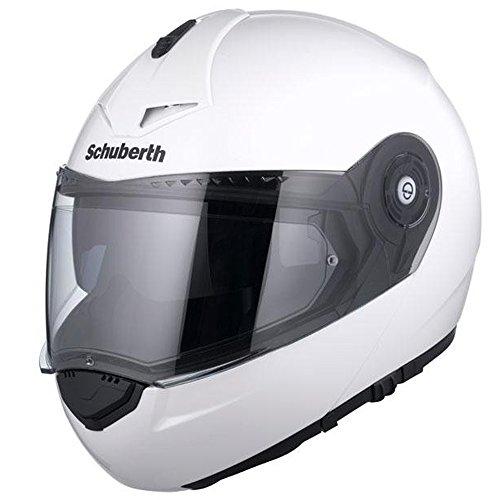 Schuberth C3 Pro Gloss weiß Motorradhelm
