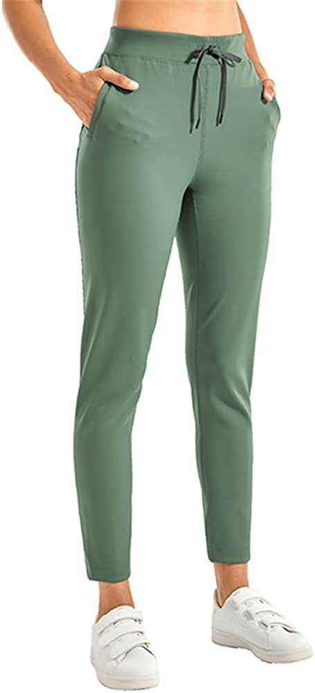 NP Women's Stretch Casual Pants Drawstring Jogger Travel Lounge Sweatpants