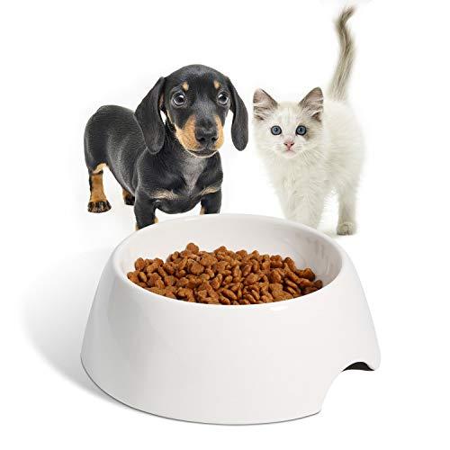ComSaf Hundenapf Keramik, Keramiknapf für Hunde und Katzen, Rutschfester Keramik Futternapf Fressnapf Wassernapf für Kleine Große Hunde