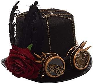 GRACEART スチームパンクトップゴーグル付き帽子(様々なスタイル) (B)